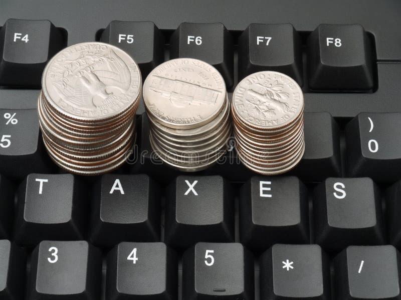 Impôts photo stock