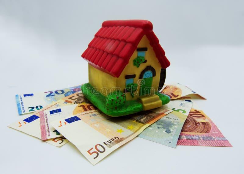 Impôts et hypothèque sur la maison, concept photos libres de droits