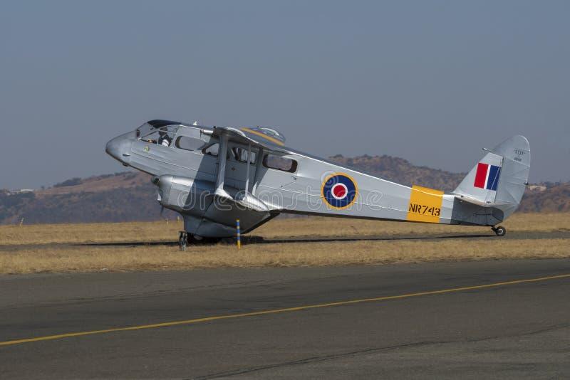 Impôt de Havilland Dragon Rapide images libres de droits