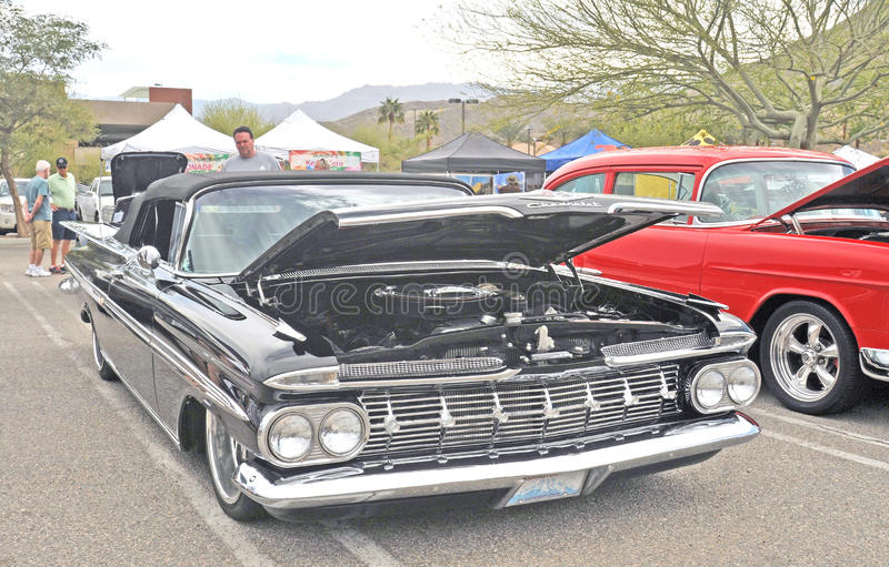 Impala μετατρέψιμο στοκ εικόνες με δικαίωμα ελεύθερης χρήσης