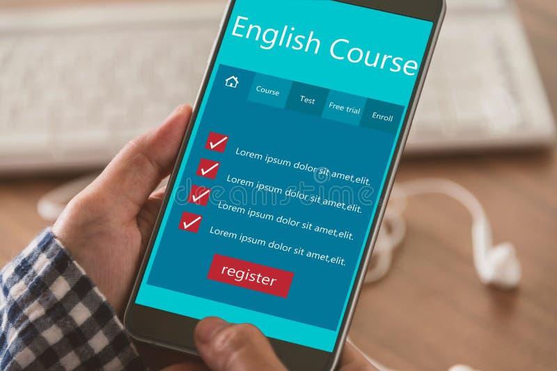 Impari l'inglese immagine stock
