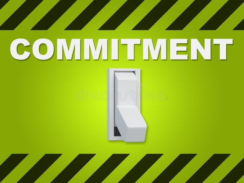 Impegno - concetto di relazione umana royalty illustrazione gratis