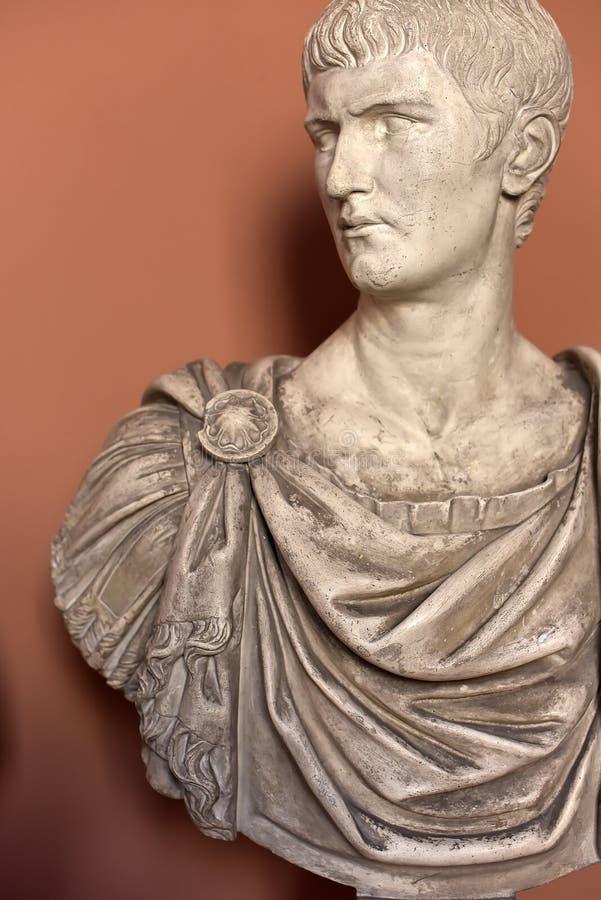Imperador antigo - Caligula fotografia de stock