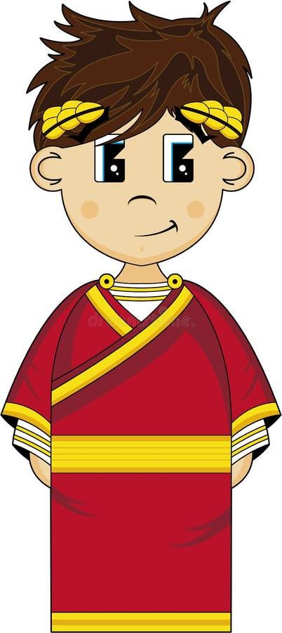 Imperador romano antigo ilustração do vetor