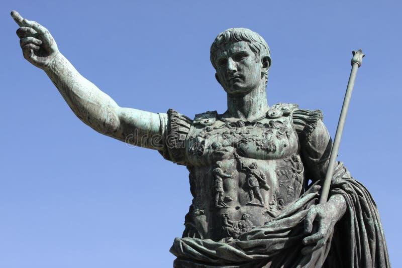 Imperador romano Augustus fotografia de stock