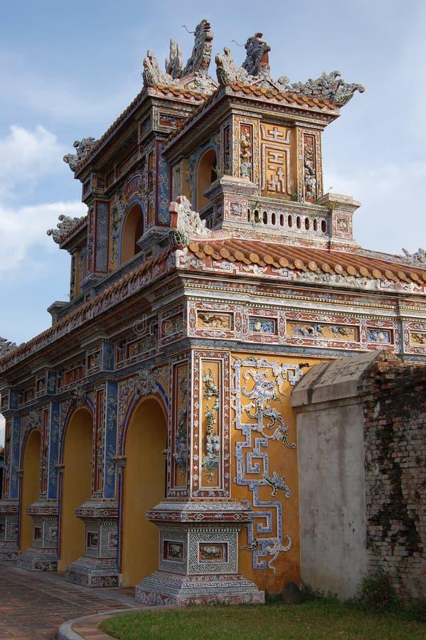 Imperatora pałac odcień Wietnam fotografia stock