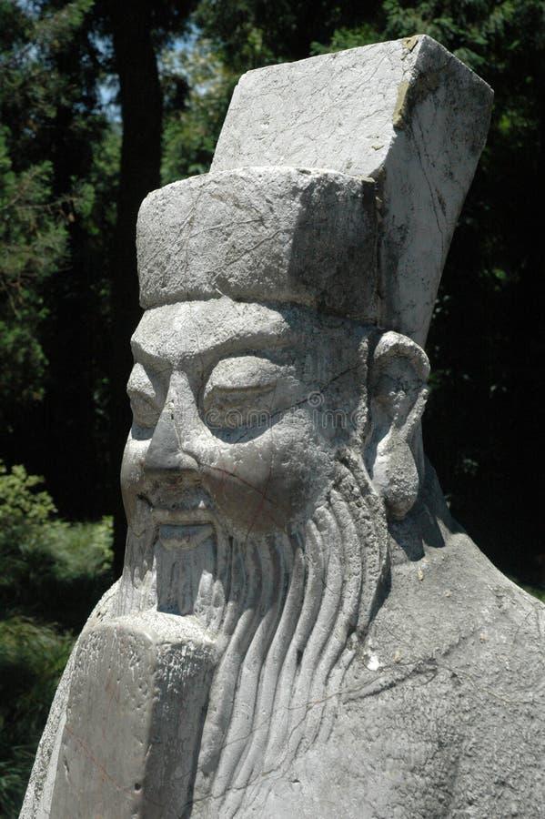 Imperatore cinese del guardiano immagine stock