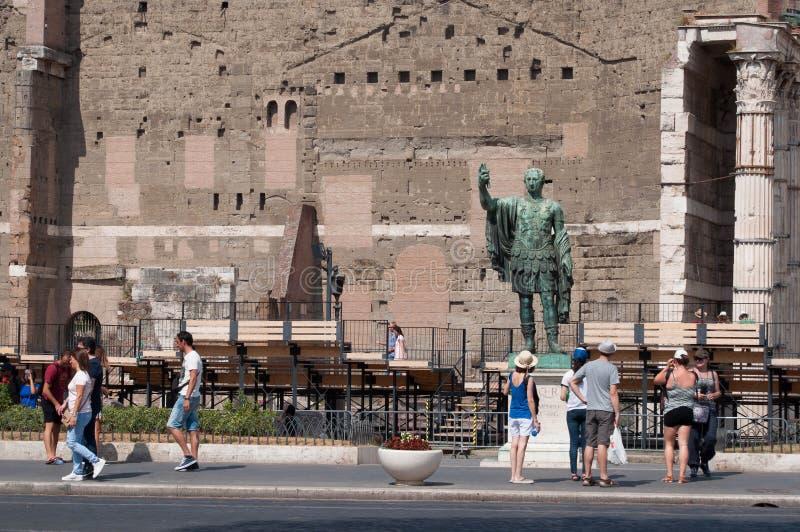 Imperatore Nerva photos libres de droits