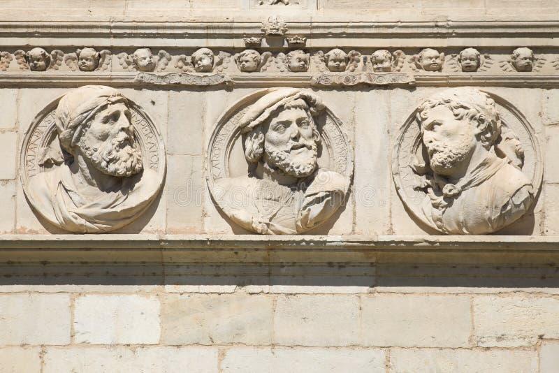 Imperatori romani fotografia stock libera da diritti