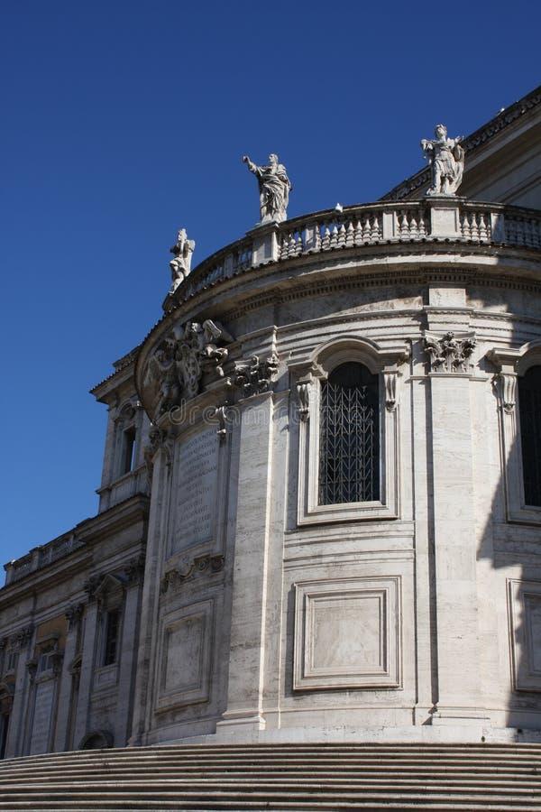 Imperatori romani sulle vie della città di Roma immagini stock libere da diritti