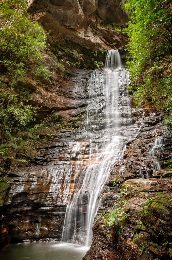 Imperatorowej siklawa - Błękitne góry, Australia obraz royalty free