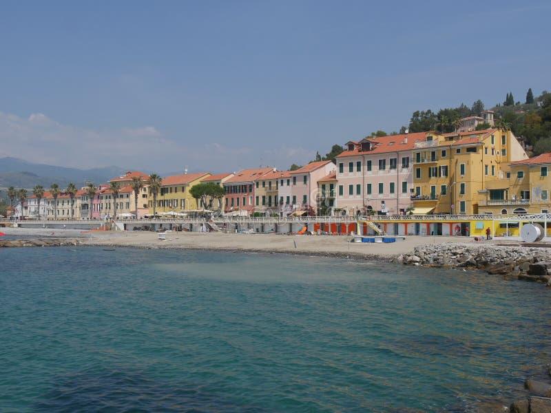 Imperia - Borgo Prino στοκ εικόνες