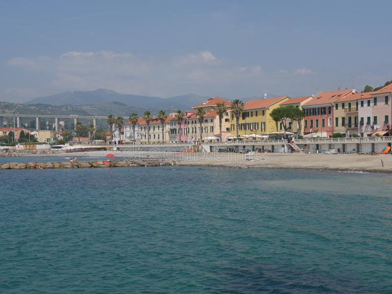 Imperia - Borgo Prino στοκ εικόνες με δικαίωμα ελεύθερης χρήσης