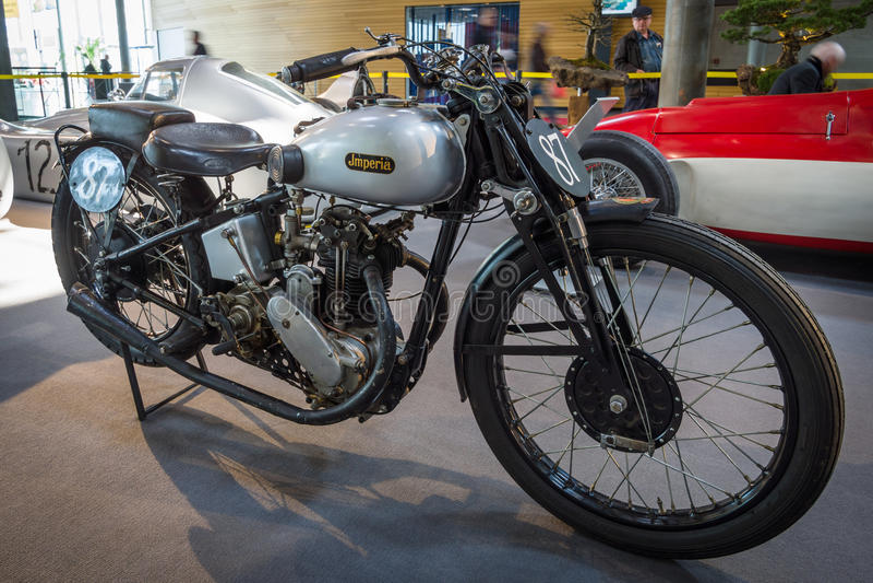 Imperia Grand prix, 1932 de motocyclette photographie stock libre de droits