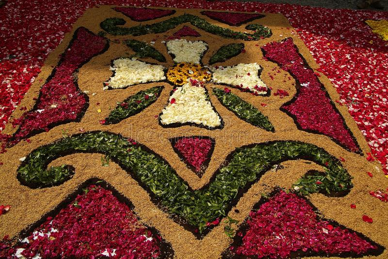Download Imperia, Italia - 10 Giugno 2007: Infiorata Lig Fotografia Editoriale - Immagine: 26662462