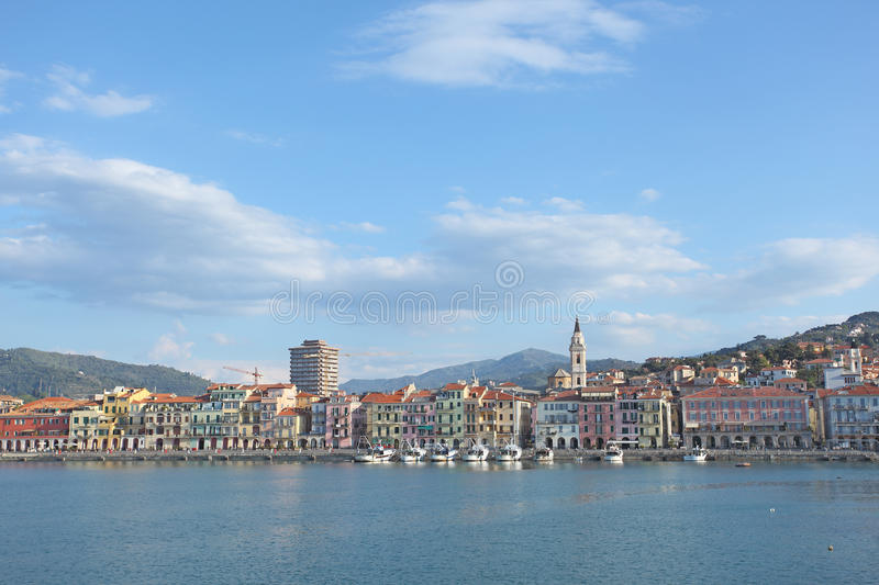 Download Imperia Oneglia Waterfront Stock Images - Image: 19195114