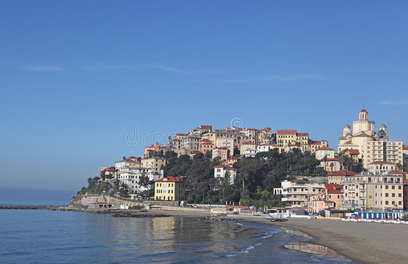 Download Imperia Porto Maurizio stock image. Image of italy, buildings - 19028993
