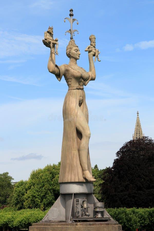 Imperia statua w Constance zdjęcia stock