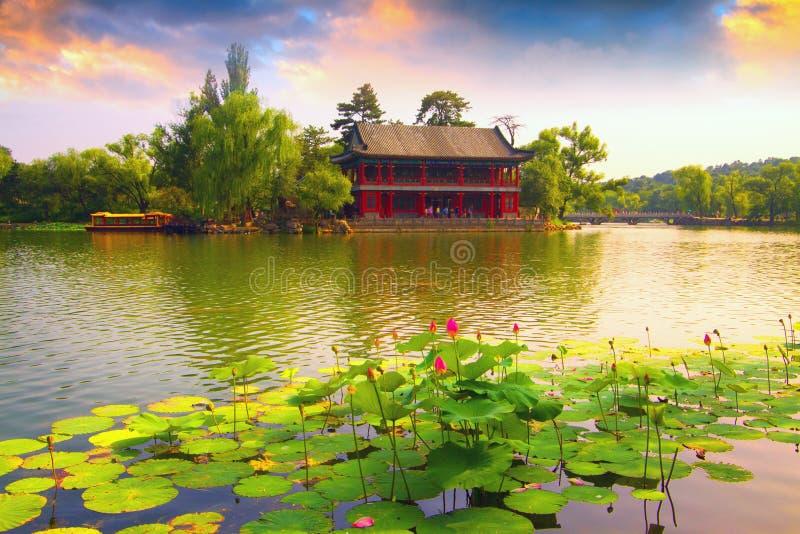 ¼ imperial Œ Heibei de Resortï do verão de Chengde, China imagem de stock royalty free