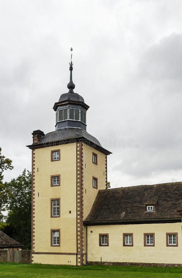 Imperial Abbey of Corvey, Germany royalty free stock photography