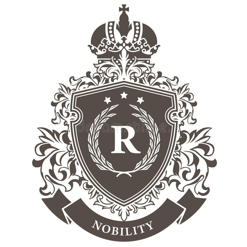 Free Imperial Coat Of Arms - Heraldic Royal Emblem Stock Image - 84687191