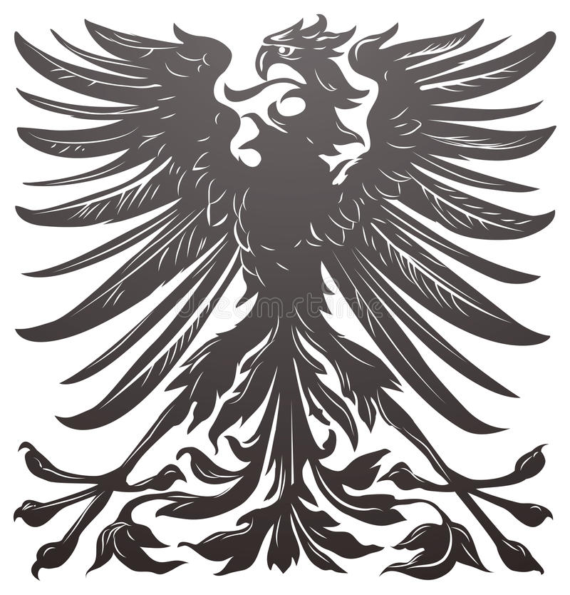 imperial eagle design element stock vector illustration 18405718. Black Bedroom Furniture Sets. Home Design Ideas