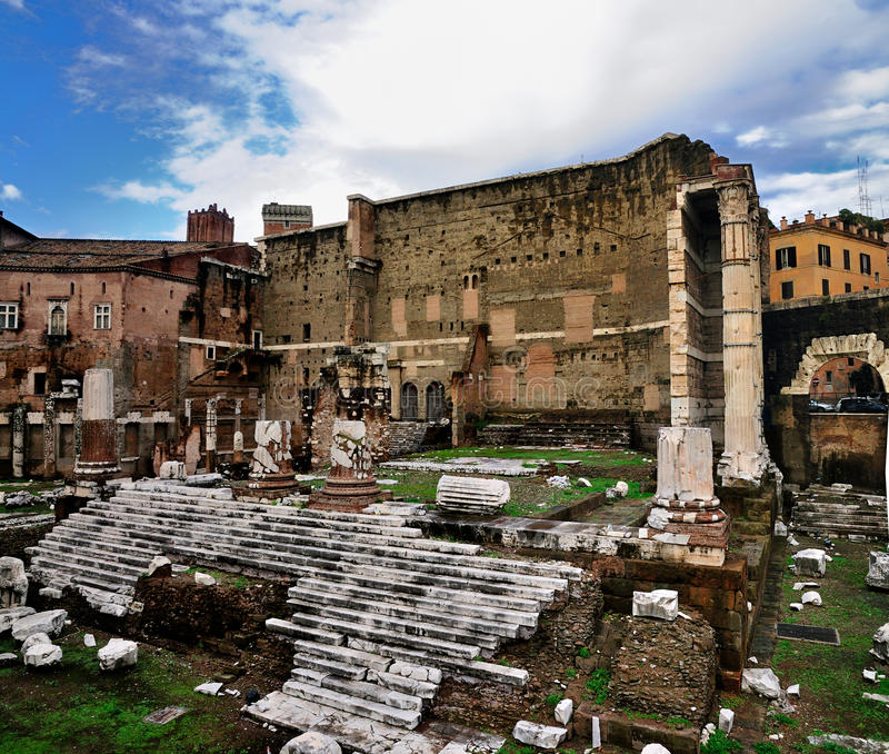 Imperial Forum, Rome, Italy royalty free stock photo