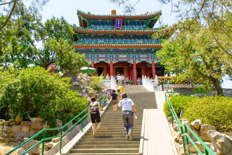 Imperial Garden. Beijing, China At The Forbidden City Editorial ...