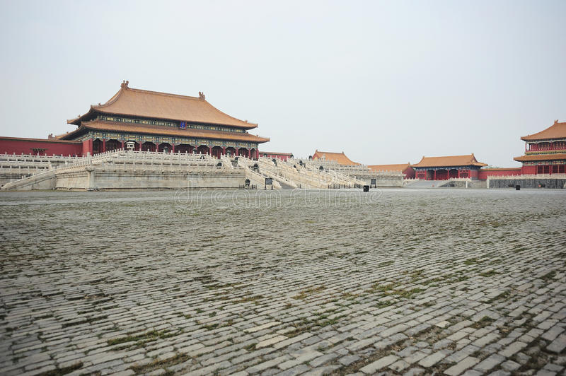 The imperial palace royalty free stock photography