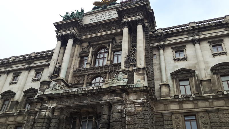 Imperial Palace of Hofburg royalty free stock photos