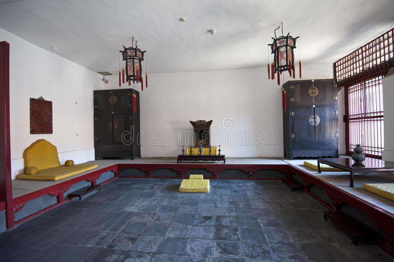Imperial Palace Interior Arrangement Royalty Free Stock Image