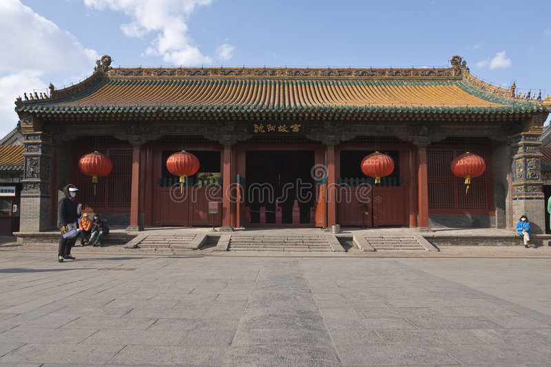 imperial palace shenyang στοκ εικόνα