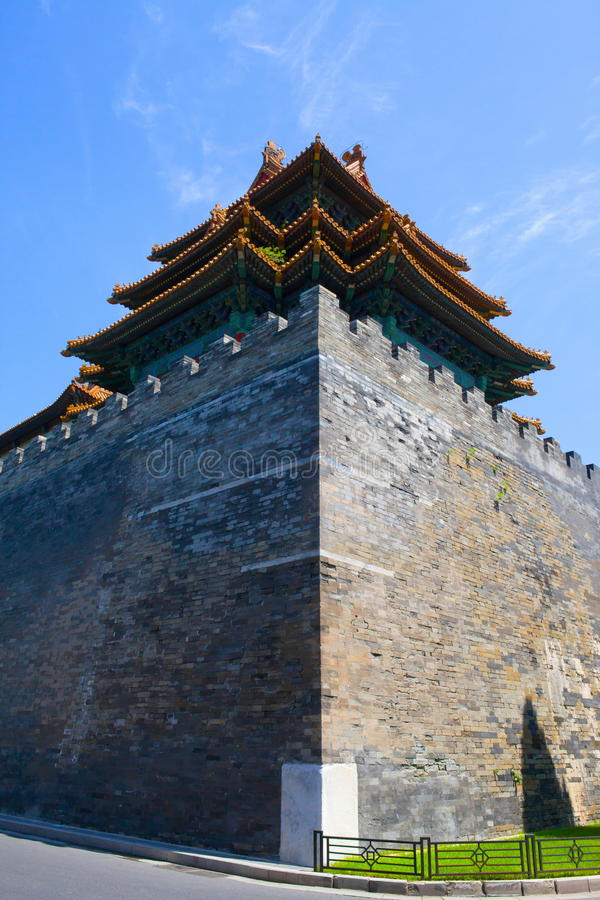The imperial palace watchtower royalty free stock photo