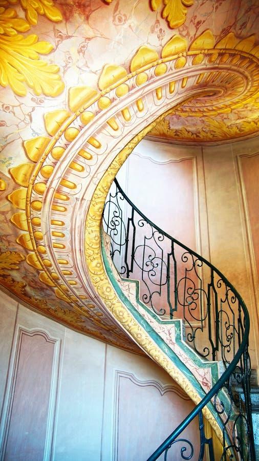 Imperial Stairs Melk Abbey, Austria royalty free stock photos