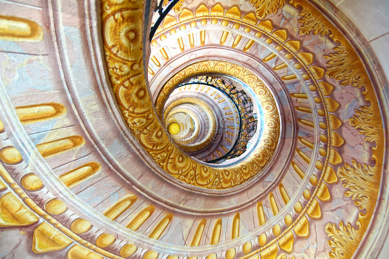 Imperial stairs Melk Abbey, Austria royalty free stock images
