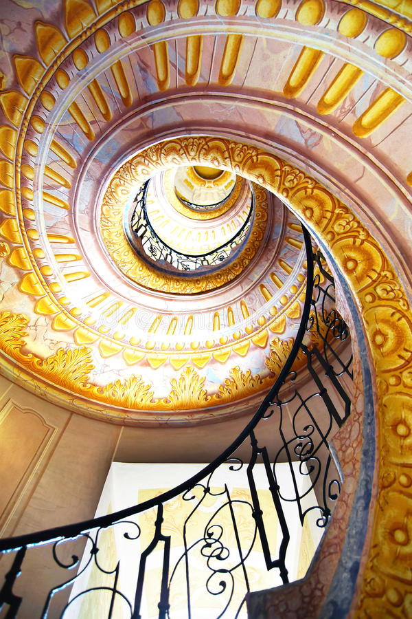 Imperial Stairs Melk Abbey, Austria royalty free stock image