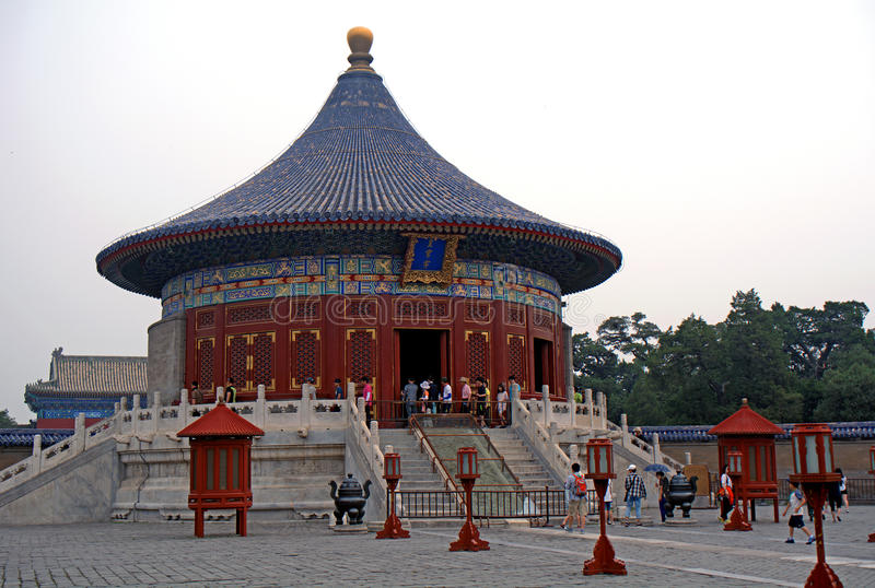 The Imperial Vault of Heaven, Beijing, China royalty free stock image