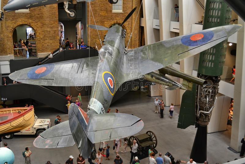 Imperial War Museum in London stock images