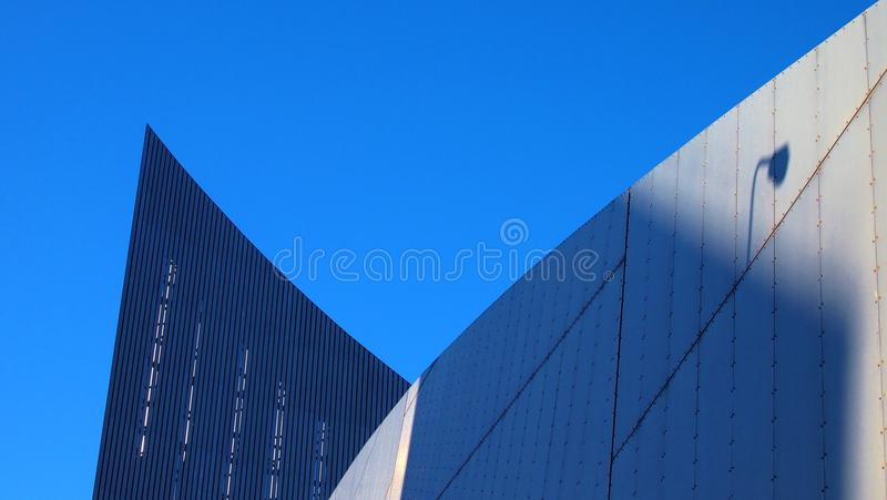Imperial War Museum, Manchester UK stock photo