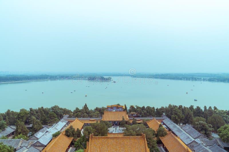 Imperialistisk kinesträdgård royaltyfri foto