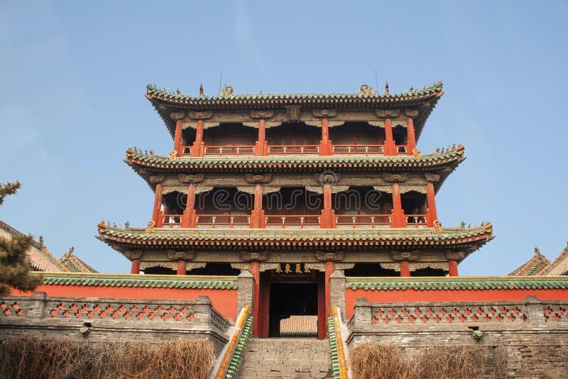 Imperialistisk slott Forbidden City Kina för gammal Shenyang Peking royaltyfria bilder