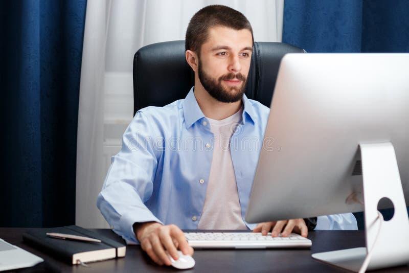 Impianti dell'uomo d'affari immagini stock