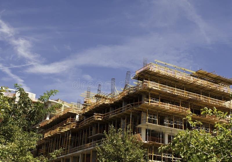 Impianti di costruzione new york fotografia stock for Piano di costruzione dell edificio