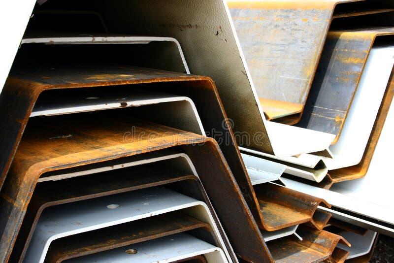 Impianti industriali del metallo immagini stock libere da diritti