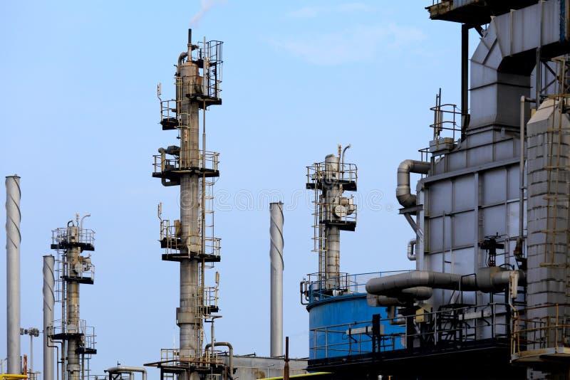 Impianto di lavorazione del gas fotografia stock