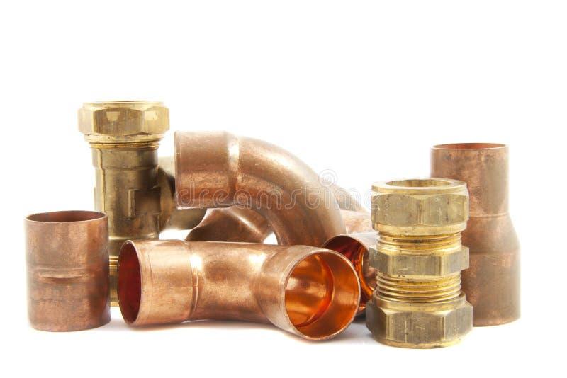 Impianto idraulico fotografie stock libere da diritti