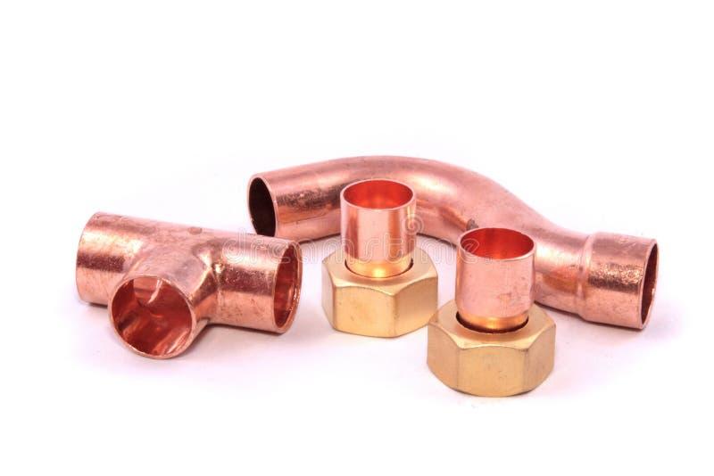 Impianto idraulico fotografie stock