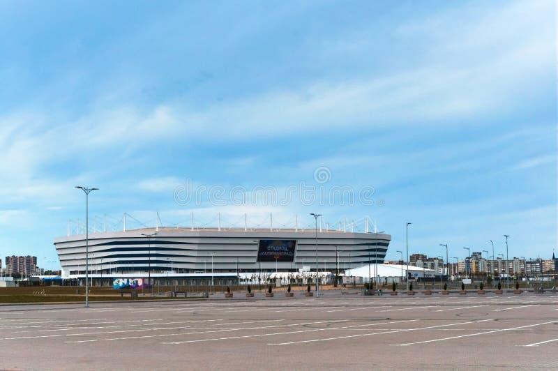 Impianto sportivo moderno, stadio di football americano fotografia stock