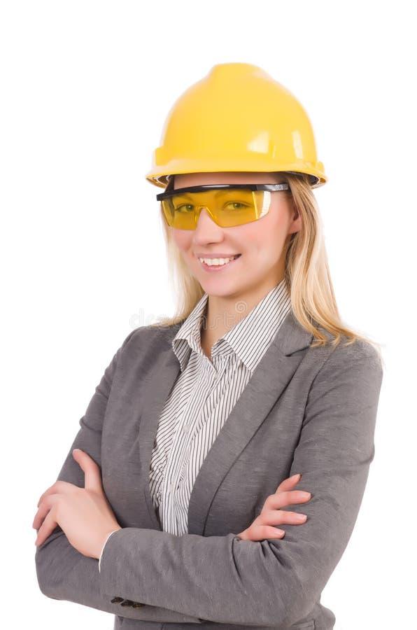 Impiegato della costruzione immagine stock