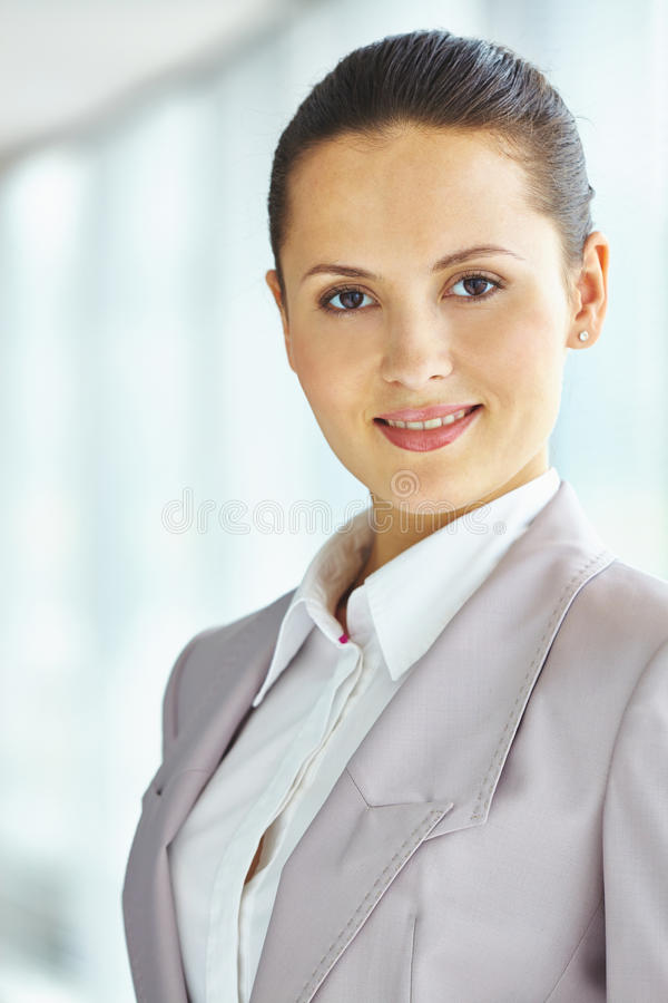 Impiegato femminile fotografie stock